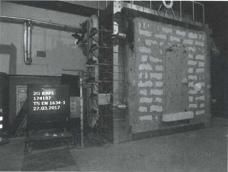 120 Dakika TSE Belgeli Yangın Kapısı Bursa